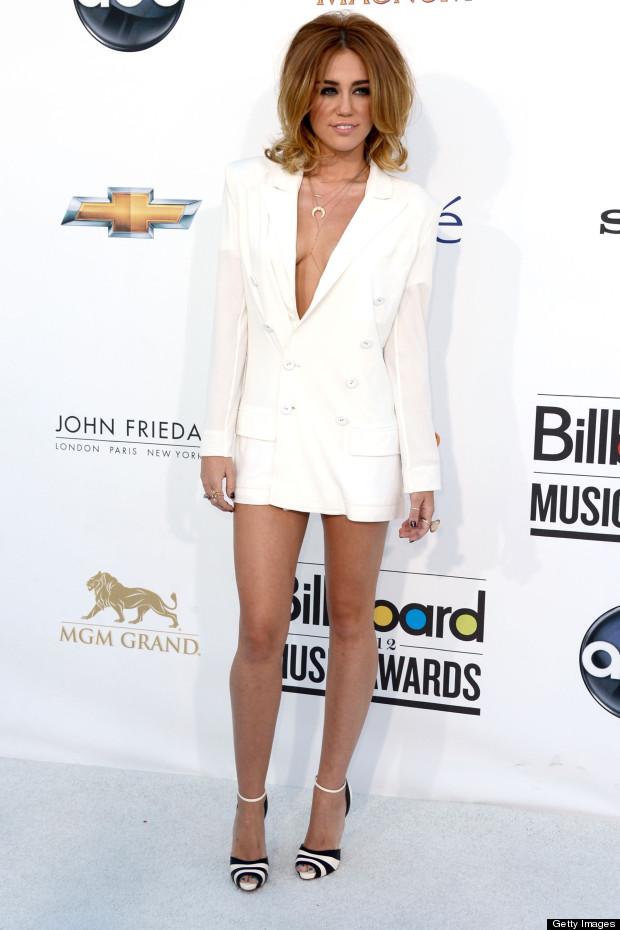 Haute Or Not Miley Cyrus White Jean Paul Gaultier Blazer