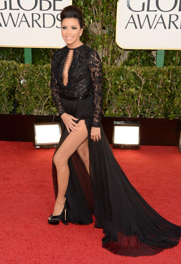 Eva Longoria Red Carpet Dress 2013