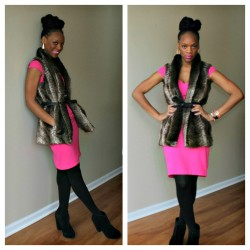 f73cebf8753 Happy Wednesday everyone! I hope your week s been fab and full of joy so  far! I m a huge fan of faux fur and I was so excited when my aunt bought me  ...