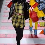 betsey-johnson-yellow-plaid-dress-nyfw-2013-beauty-and-the-beat-blog