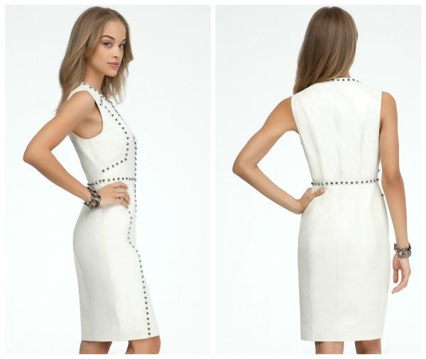 Haute or Not?: Kandi Burruss in White Leather, Studded bebe Dress ...