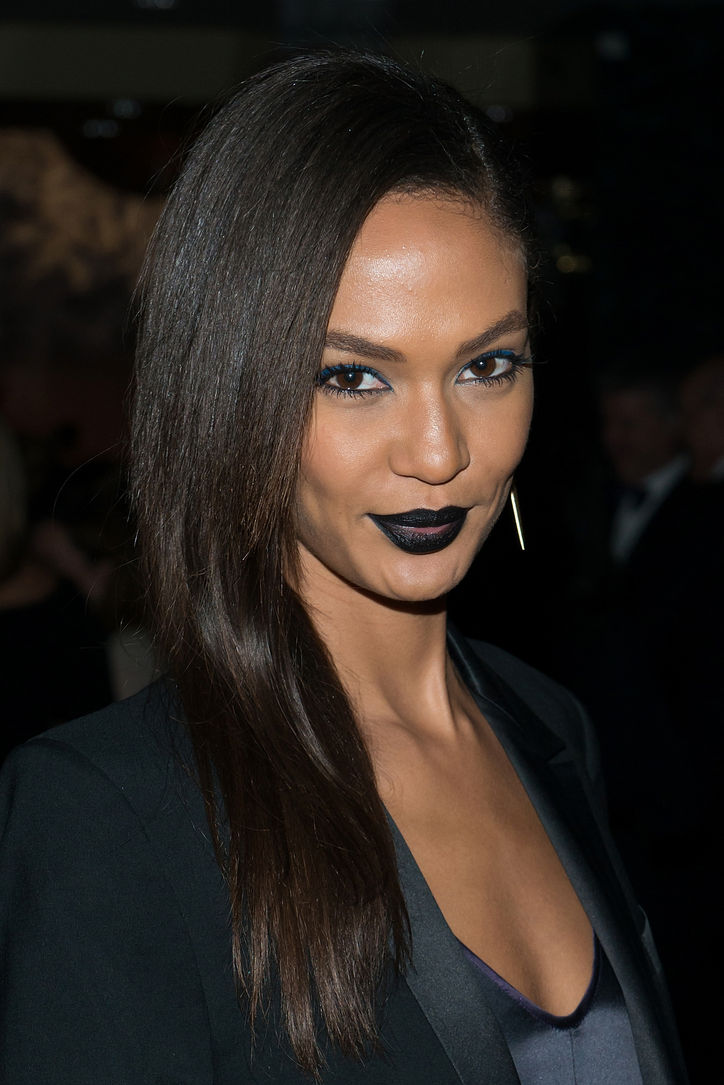 Get The Look: How To Rock Black Lipstick Like Joan Smalls