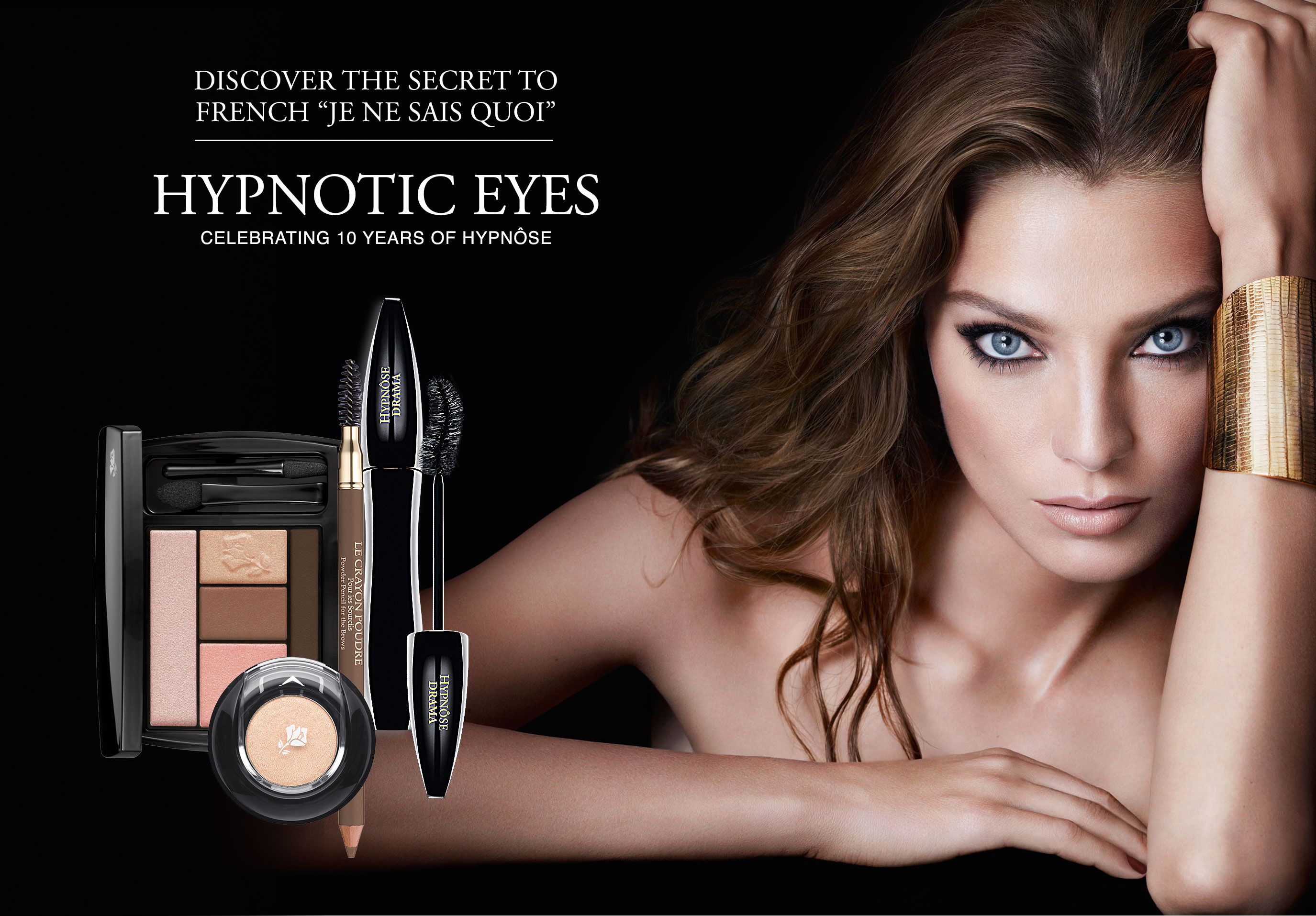 Hypnotic lancome eyes spring makeup collection