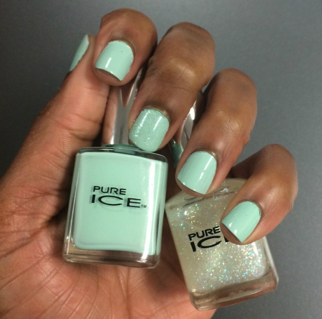Beauty Crush: Pure Ice Home Run & Don't You Wish Nail