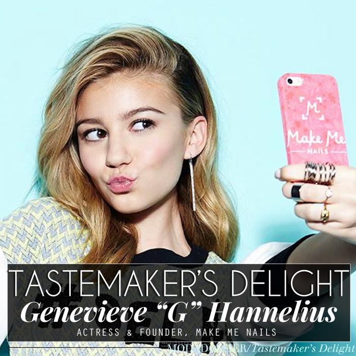 "Glam Interview: Genevieve ""G"" Hannelius, Actress, Nail Art Guru & Co ..."