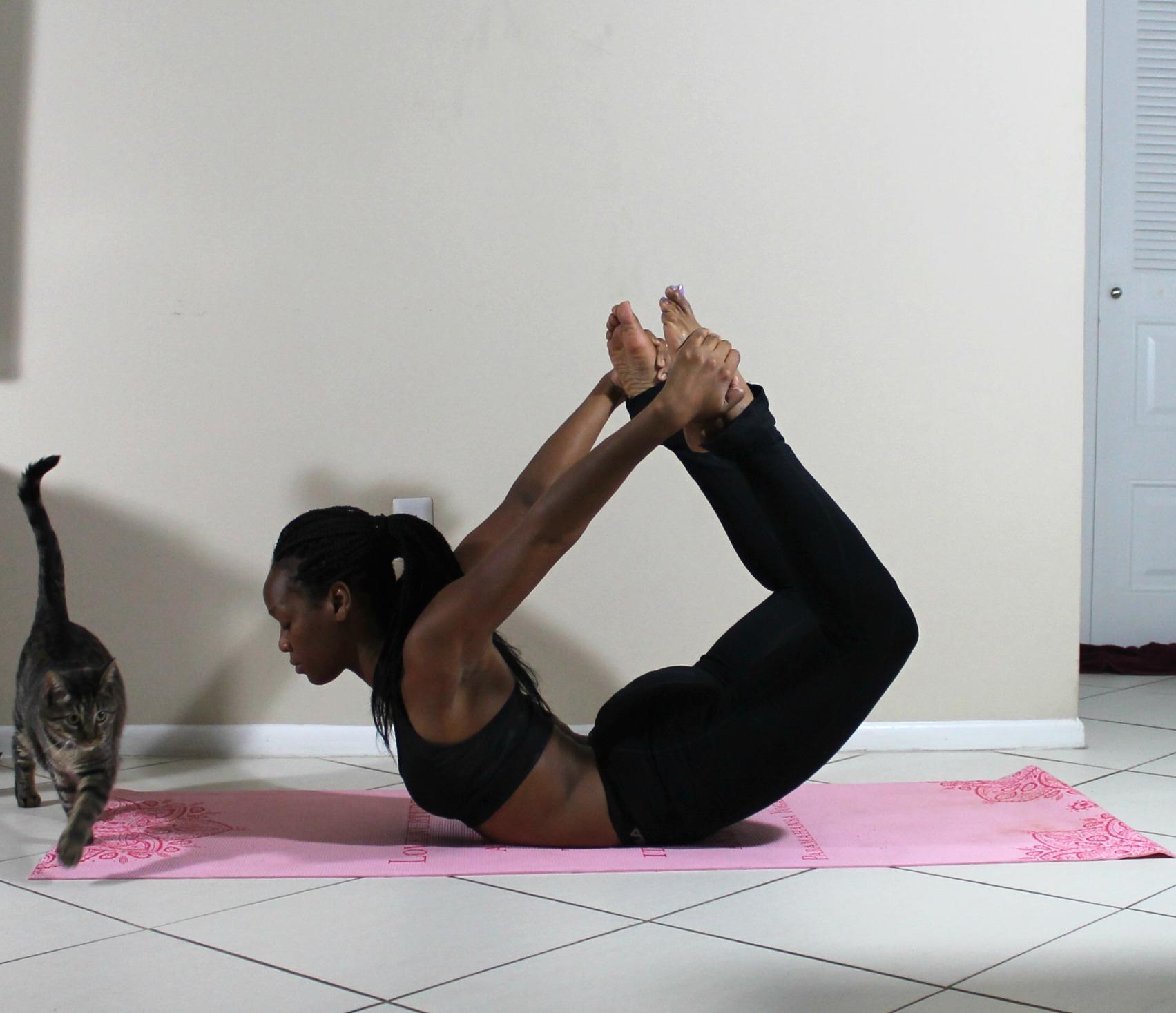 Black yogi