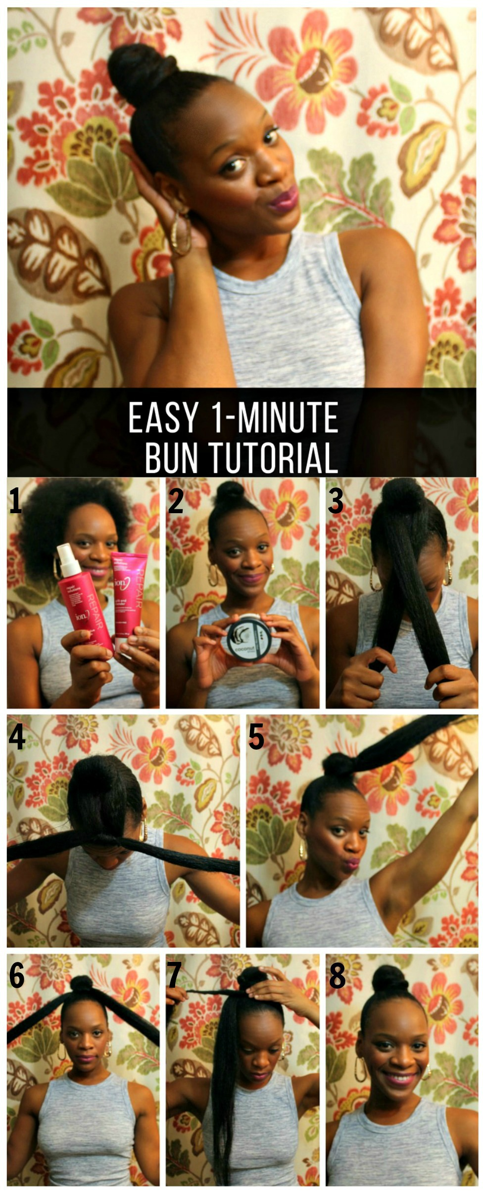 Minute Hairstyles For Natural Hair